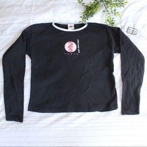 Vintage Tokyo Hard Rock Cafe black long sleeve T